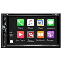 "Power Acoustik Cpaa-70D D.Din 7"" Touchscreen Android Auto Apple Car Play"