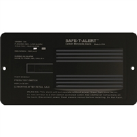 MTI Industries 65542PBL Alarm-12V Flush Mount Co Black