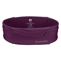 Nathan Ns7702-0344-34 7702 The Zipster Running Waist Belt Amaranth Large