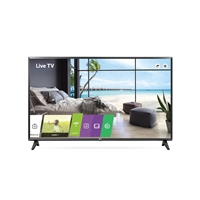 Lg Commercial Tv 32Lt340Cbub 32In 1366X768 Led Lcd Taa Hdmi Usb Spkr Stand Wol