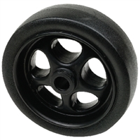 "Seachoice 50-52070 6"" Blk Poly Spare Jack Wheel"