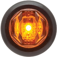 Seachoice MCL12AKSCH Led Marker Light-Amber 1 Diode