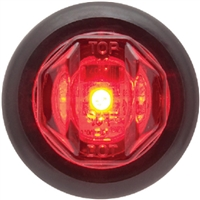 Seachoice MCL12RKSCH Led Marker Light Red 1 Diode
