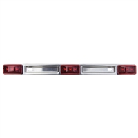 Seachoice MCL97RKSCH Led Sealed Red I.D.Bar