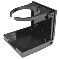 Seachoice 79461 Black Adjustable Drink Holder