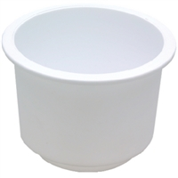 Seachoice 79490 Drink Holder White Lg Recessed