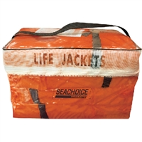 Seachoice EPE1110AK1AUPK40-85510 Orange Adult Vest 4Pak Bag