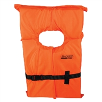 Seachoice EPE1110AK1ASLO-85580 Orange Adult Xl Life Vest Foam