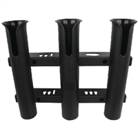 Seachoice 89451 Rod Rack-Holds Three-Black