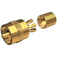 Shakespeare PL259CP PL-259-CP-G GOLD PLATED CENTERPIN PL259 CONNECTOR