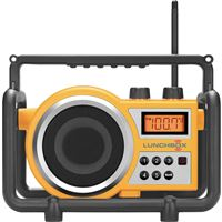 Sangean Lb-100 Compact Rugged Am/Fm Radio 12 Presets Clock Equalizer