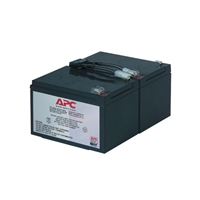 APC BY SCHNEIDER ELECTRIC RBC6 REPLACEMENT BATTERY CARTRIDGE 6 UPS LEAD ACID
