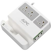 APC BY SCHNEIDER ELECTRIC P3U3 ESSENTIAL SURGEARREST 3 OUTLETS USB CHARGING