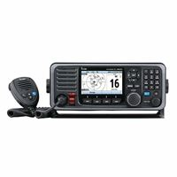 Icom M605 21 Fixed Mount 25W Vhf Color Display Ais And Rear Mic Connector