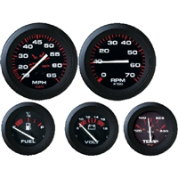 "Sierra_11 57902P Amega Domed 2"" Fuel Gauge"