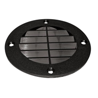 T-H Marine LV1DP Louvered Vent Cover Blk