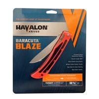 "Havalon Knives Xtc-115Blaze Baracuta Fitment Blaze 3 3/8"" Drop Point Blade"