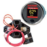 Balmar Sg200 Battery Monitor Kit Display Shunt And 10M Cable 12-48 Vdc