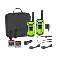 Motorola T605 2-Way Radio 2-Pack 35Mi. Green Float