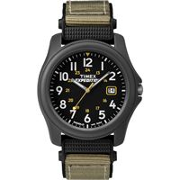 Timex T42571Jv Expeditionr Camper Nylon Strap Watch Black