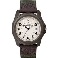 Timex T49101 Expedition Unisex Camper Brown/Olive Green