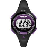 Timex T5K523Jv Ironmanr 10-Lap Watch Mid-Size Purple/Black