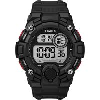 Timex Tw5M27600Jv Men'S A-Game Dgtl 50Mm Watch Black/Red