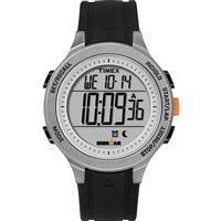 Timex Tw5M24600Jv Ironmanr Essential 30-Lap Unisex Watch Black/Grey/Orange