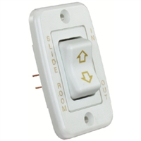 JR Products 12345 Single Slideout Switch White