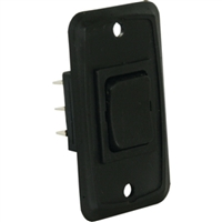 JR Products 12825 H.D.12V Mom-On/Of Mom-On Blk