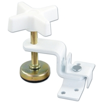 JR Products 20775 Fold-Out Bunk Clamp White