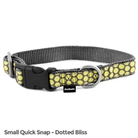 Petsafe Fin-Qsc-S-3/4-D Fido Finery Quick Snap Collar Small Dotted Bliss