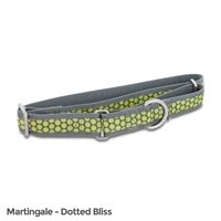 Petsafe Fin-Prc-L-1-Dot Fido Finery Martingale Style Collar 1 Large Dotted