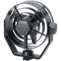 Hella 003361002 Fan 12V 2-Speed Turbo Black