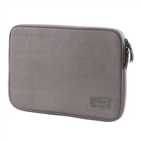 Hex Hx1915-Grey Protective Sleeve Case Rear Pocket