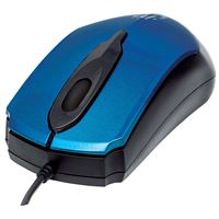 Manhattanr 177801 Edge Optcl Mouse Blu/Blk