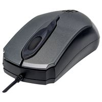 Manhattanr 179423 Edge Optcl Mouse Gry/Blk