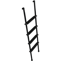 Stromberg Carlson Products LA-466-B Interior Bunk Ladder 66In Blk.
