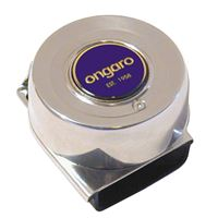 Schmitt And Ongaro Marine 10036 All-Stainless Mini Compact Single Horn 12V