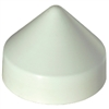 "Dock Edge DE91801F Piling Cap 10"" Cone Off White"