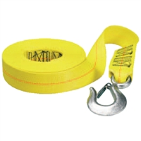 "Fulton Products WS20HD0200 Winch Strap-Hd Hook 2""X20'"