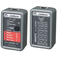 Ideal Ind 62-200 Linkmaster Utp/Stp Cable Tester Nic