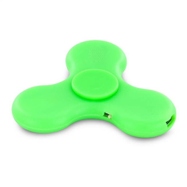 18189 Stress Relieving Led Bluetooth Speaker Fidget Spinner
