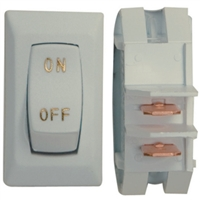 Diamond Group DG110UGPB Wht/Gold3/Pack Labeled Switch