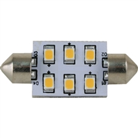 Scandvik 41102P Light Festoon 37 Mm 6 Led Ww