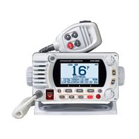 Standard Horizon Gx1800Gw Vhf Optional 2Nd Station Gps White