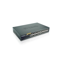 D-LINK SYSTEMS DES-1024D UNMANAGED FAST ETHERNET SWITCH. 24-PORT 10/100MBPS