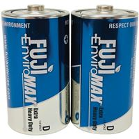 Fuji Batteries 3100Bp2 Sup Hvy Dty D 2Pk