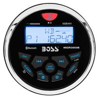 Boss Audio Mgr350B Marine Gauge Style Radio Mp3/Cd/Am/Fm/Rds Receiver