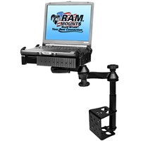 Ram Mounting Systems Ram-Vb-184T-Sw1 Mount Ram Vertical Drill-Down Laptop